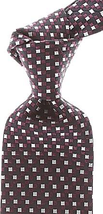 Ties On Sale, Purple, Silk, 2017, one size Ermenegildo Zegna