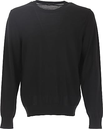 Sweater for Men Jumper On Sale, Black, Wool, 2017, L M S XL XS XXL Ermenegildo Zegna