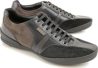 Sneakers for Men On Sale in Outlet, Black, Suede leather, 2017, 5.5 Ermenegildo Zegna