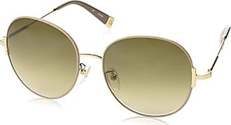 SPORT Unisex 0Ps50Rs Zvn5N0 Sunglasses, Pale Gold/Brown(Orange)/Kiridium, 59 Prada