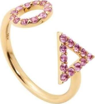 Eshvi Astro Double Ring - UK M - US 6 - EU 52 3/4