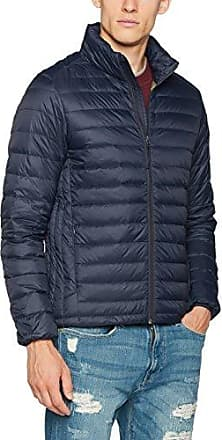 087EE1G011 - Blouson - Femme - Bleu (Navy 400) - FR: XL (Taille Fabricant: L)Esprit