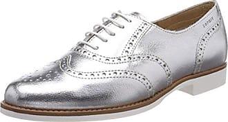 Urban Walk Vero - Zapatos de cordones de cuero para mujer Plata Argent (Silver) 40 tZojnoxQ