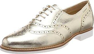 Remonte D2601, Zapatos de Cordones Oxford Para Mujer, Plateado (Silber/Shark), 43 EU