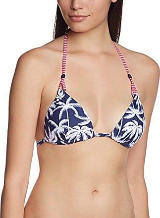 Esprit Bodywear - Haut de maillot de bain Femme - 994EF1A903/MANLY BEACH - Bleu (485) - 38/85C (Taille fabricant: 36/70C)