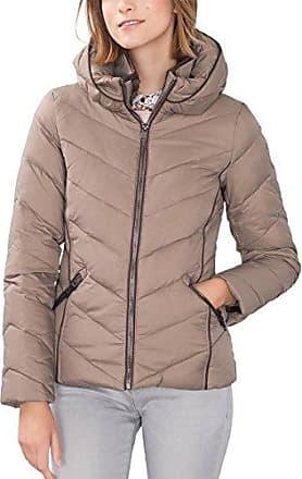 087EE1G011 - Blouson - Femme - Beige (Light Beige 290) - FR: 3XL (Taille Fabricant: 2XL)Esprit