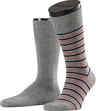 Mens Coloured Stripe Socks pack of 2 Esprit