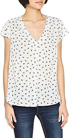 Esprit 067ee1f003, Blusa para Mujer, Multicolor (White 100), 34