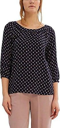 Esprit 037ee1f029, Blusa para Mujer, Multicolor (Navy), 38