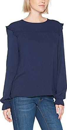106EE1F036, Blouse Femme, Bleu (Navy), 38Esprit