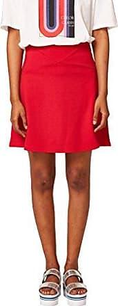 Esprit 028ee1d001, Falda para Mujer, Multicolor (Red 630), X-Small