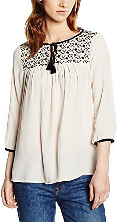 996EE1F901 - Blouse - Taille Normale - Manches Longues - Femme - Écru (Off White) - FR: 44 (Taille Fabricant: DE: 42)Esprit