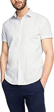 057cc2f011, Camisa para Hombre, Blanco (White), Medium EDC by Esprit