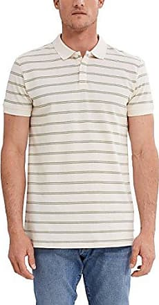 ESPRIT Collection 087eo2k007, Polo Homme, Blanc (White 100), Large