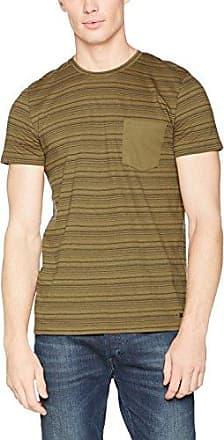 047ee2k019-Print, T-Shirt Homme, Orange (Rust Orange), SmallEsprit