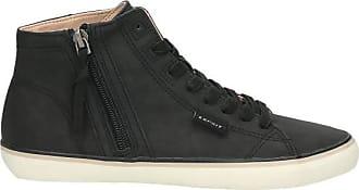 Esprit High Top Sneaker Damen, schwarz