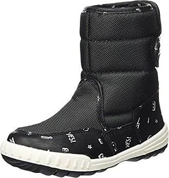 Kickers Yorick, Bottes de neige mixte enfant - Noir (Noir), 27 EU
