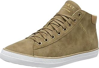 ESPRIT Damen Elda Bootie Hohe Sneaker, Braun (Taupe), 36 EU