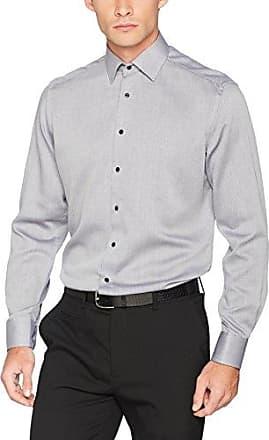 X48P, Camisa para Hombre, Negro, 44 cm (17.5) Eterna