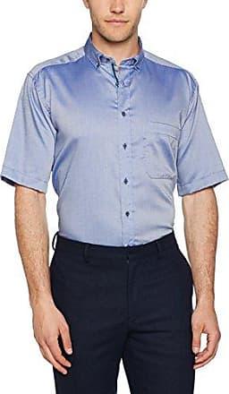 E177, Camisa para Hombre, Azul (Dunkelblau), Tamaño del Collar: 45 cm Eterna