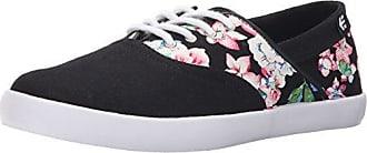 Etnies Corby WOS, Scarpe da Skateboard Donna, Nero (Black rosa bianca 887), 37 EU