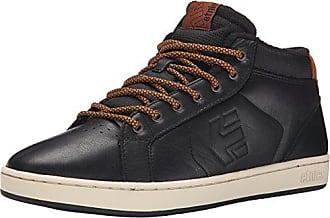 Etnies Fader, Chaussures de Skateboard Homme, Noir (562-Black/Dark Grey/Silver), 41.5 EU
