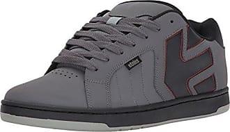 Etnies Fader 2, Chaussures de Skateboard Homme, Gris (Grey/Black/Red), 41 EU