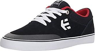 Etnies Jefferson Mid, Zapatillas de Skateboarding para Hombre, Azul (Navy/Brown/White/480), 38.5 EU