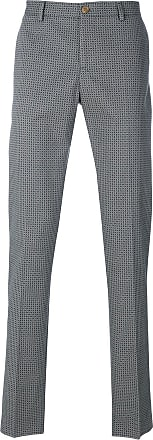 all-over printed trousers - Grey Etro