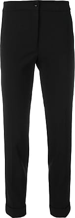 cropped slim-fit trousers - Unavailable Etro