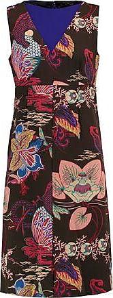 Etro Woman Embellished Crepe Dress Black Size 38 Etro