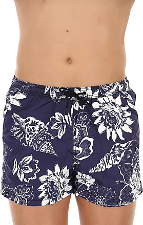 Swim Shorts Trunks for Men On Sale in Outlet, Light Blue, Nylon, 2017, S Etro