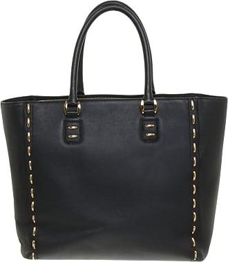 gebraucht - Shopper - Damen - Schwarz - Leder Etro