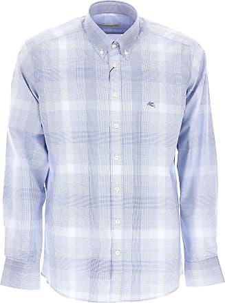 Shirt for Men On Sale, White, Cotton, 2017, 16 16.5 17 Etro