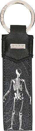 Etro skeleton tag keyring - Black