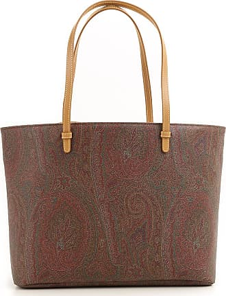 Tote Bag On Sale in Outlet, Brown, Leather, 2017, one size Etro