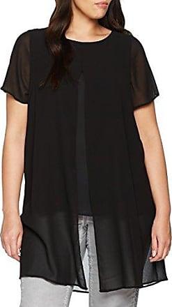 EVANS Split Front, Blusa para Mujer, Negro (Black 01), 50