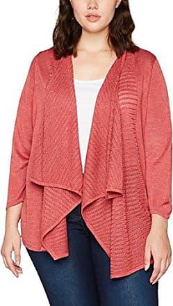 EVANS Long Sleeve Fine Knit, Cárdigan para Mujer, Negro (Black 01), 42 (Talla del Fabricante:42/44)