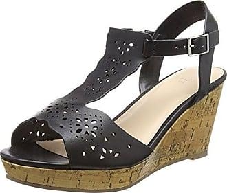 Harlowe, Zapatos con Tacon y Correa de Tobillo para Mujer, Blanco (White 03), 42 EU EVANS