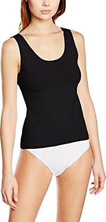 Even&Odd 685/Pack 3, Camiseta Interior para Mujer, Negro (Black), Large
