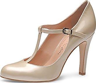 SHOWHOW Damen Sexy Glitzer Platform Runde High Heels Low Top Pumps