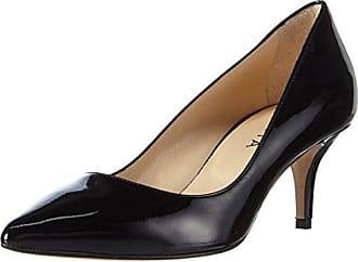 Pump, Escarpins Bout Fermé Femme, Noir (Schwarz 10), 37 EUEvita Shoes
