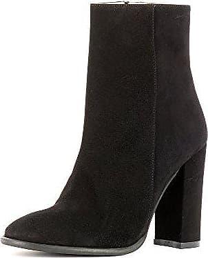 Evita Shoes TUANA Damen Stiefelette Rauleder Beige 40