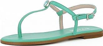 Evita Shoes Olimpia Damen Sandale Rauleder Koralle 35