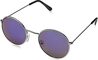 Unisex Toby Sunglasses, Silver/Silver Mirror, 50 Eyelevel