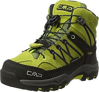 CMP Campagnolo Rigel Mid WP, Chaussures de Randonnée Hautes Mixte Adulte, Vert (Linfa-Hot Pink), 34 EU