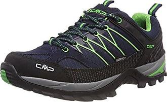 CMP Campagnolo Rigel Mid WP, Chaussures de Randonnée Hautes Mixte Adulte, Bleu (B.Blue-Gecko), 37 EU