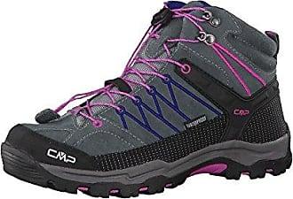 Unisex-Erwachsene Rigel Low Trekking-& Wanderhalbschuhe, Grau (Grey-Hot Pink 96bd), 41 EU F.lli Campagnolo