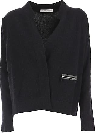 Sweater for Women Jumper On Sale, Anthracite, Virgin wool, 2017, 14 16 Fabiana Filippi
