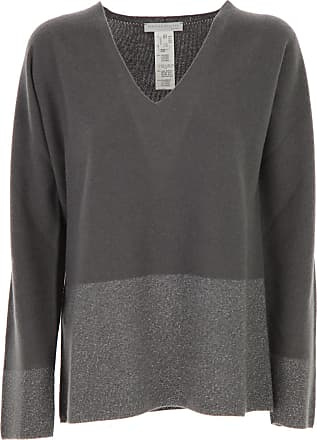 Sweater for Women Jumper On Sale, Medium Grey, Virgin wool, 2017, 12 Fabiana Filippi